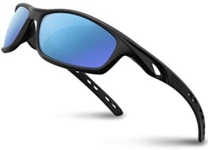 RIVBOS Polarized Sports Sunglasses for Women Men Driving shades Cycling Running